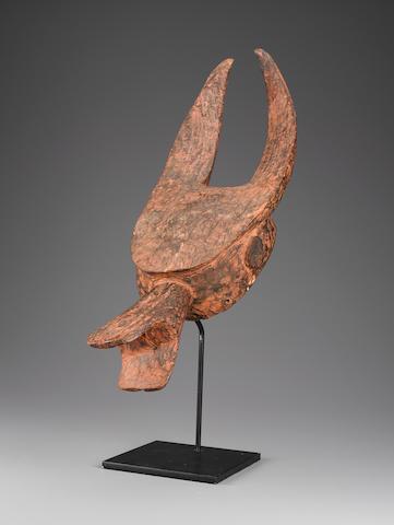 Mama Headdress, Nigeria length 25in (63.5cm)