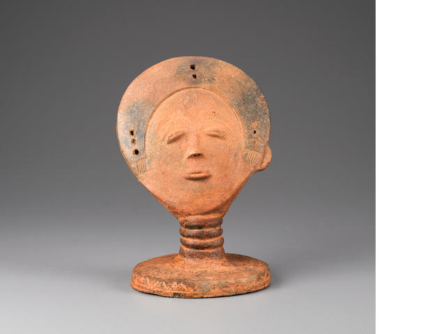 Akan Head, Ghana height 10in (25.4cm)