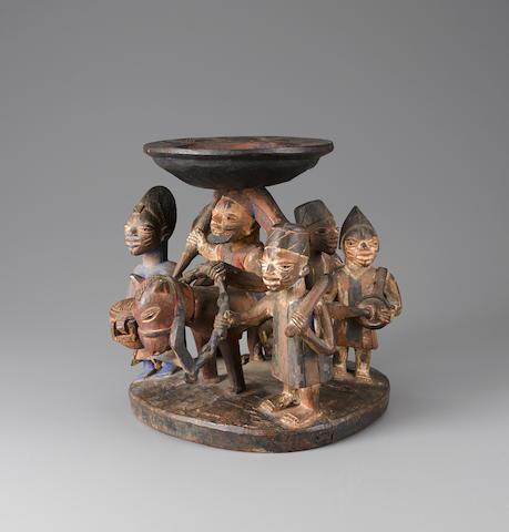 Yoruba Divination Bowl, Nigeria
