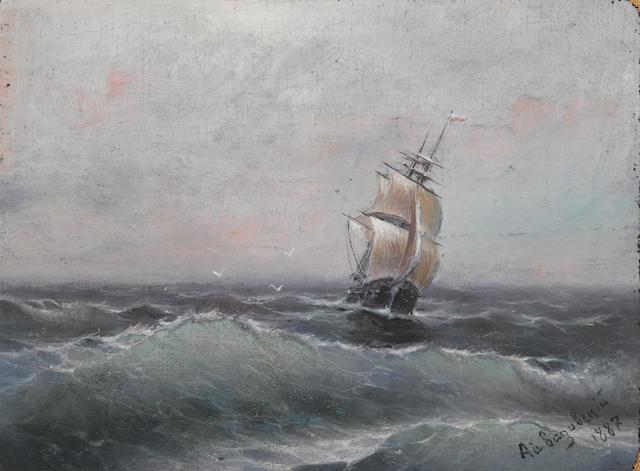 Attributed to Aivakovsky, seascape (to be confirmed)