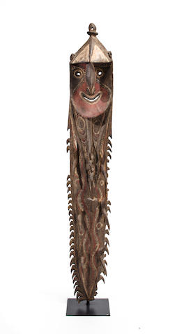 Male Figure, Kwoma People, East Sepik Province, Papua New Guinea height 77in (196cm)