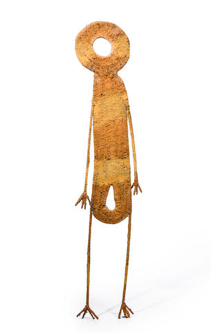 Figure, Highlands, Papua New Guinea height 50 3/4in (129cm)