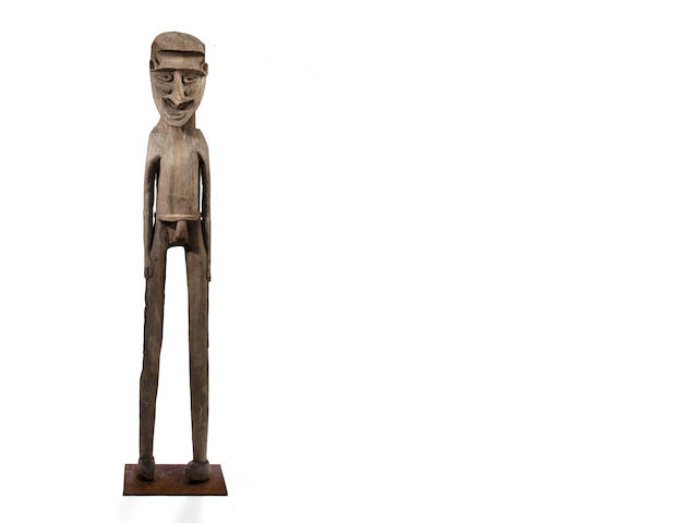 Figure, Vanuatu height 71 1/2in (182cm)