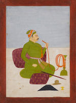 Four paintings of rajas Rajasthan, 18th and 19th century