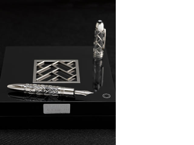 MONTBLANC: Skeleton Limited Edition 333 Fountain Pen
