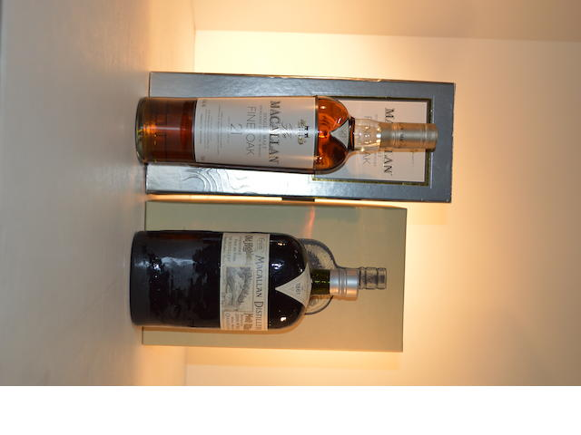 Macallan 1861 Replica (1)   Macallan Fine Oak 21 years old (1)