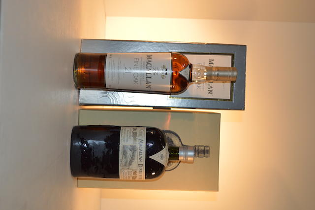Macallan 1861 Replica (1)   Macallan Fine Oak 21 years old (1)