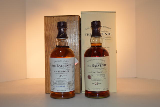 Balvenie 25 years old (1)   Balvenie 21 years old (1)