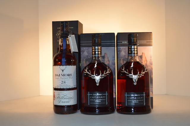 Dalmore 28 years old (1)   Dalmore Castle Leod (2)