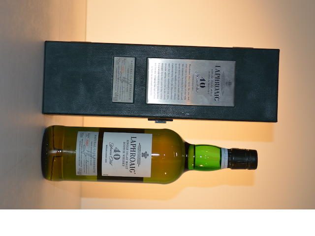 Laphroaig 40 years old