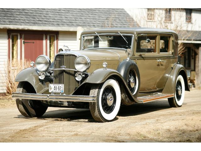1932 Lincoln KB Town Sedan 4-Passenger