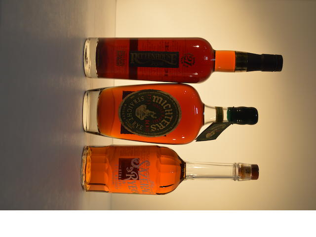 Rittenhouse Rye 21 years old (1)   Michter's 10 years old (1)   Sazerac Rye (1)