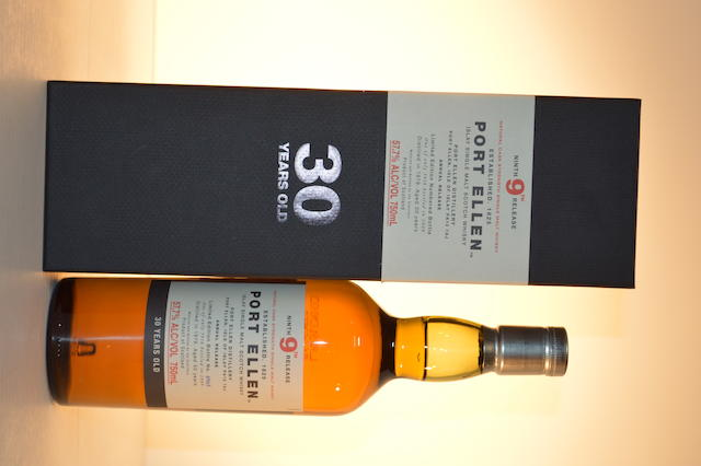 Port Ellen 9th edition- 30 years old