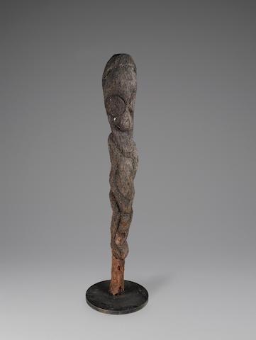 Grade Figure, North Ambrym, Vanuatu height 44in (110.2cm)