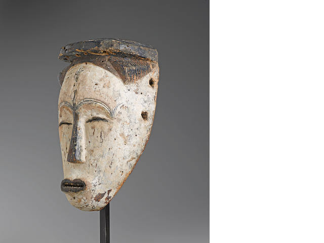 Rare Fang Mask, Gabon height 12in (30.5cm)