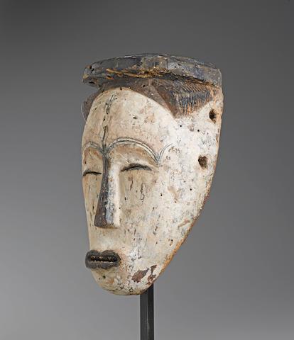 Rare Fang Mask, Gabon height 12in (30.5cm)