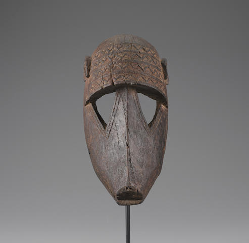 Dogon Monkey Mask, Mali height 11 3/4in (29.85cm)