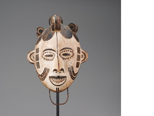 Igbo Masquerade Headdress, Nigeria height 14in (35.6cm)