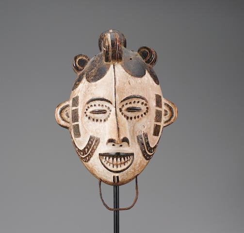 Igbo Masquerade Headdress, Nigeria height 14in (35.6cm)