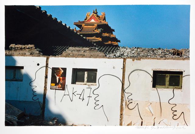 ZHANG DALI (b. 1963) Demolition Site (1998127C), 1998