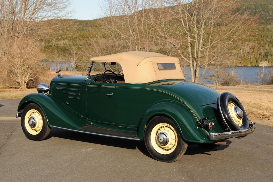 Bonhams : Property from a European Museum Collection,1934 Chevrolet