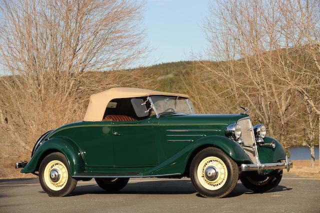 1934 Chevrolet DA Master Roadster  Chassis no. 434643-I