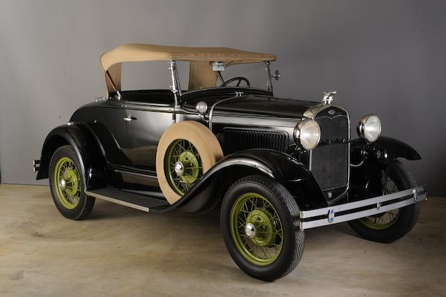 1931 Ford Model A Roadster  Chassis no. 461800