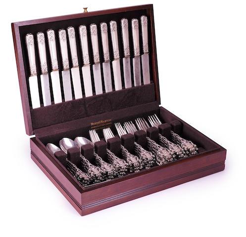 Partial silverware service, Yussupov service, (49 items)