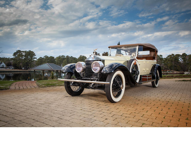 1923 Rolls-Royce 40/50hp Silver Ghost Pall Mall 5-Passenger Touring  Chassis no. 332XH