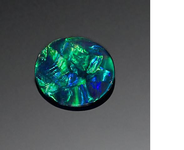 Fine Black Opal
