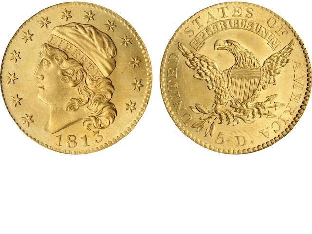 1813 $5 MS46 PCGS