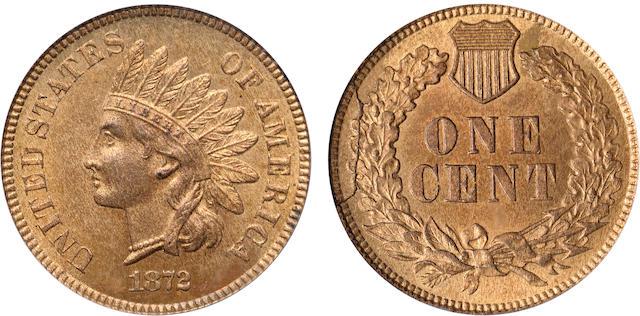 1872 1C MS66RB PCGS