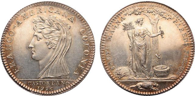 1796 Castorland Medal or Jeton, Silver