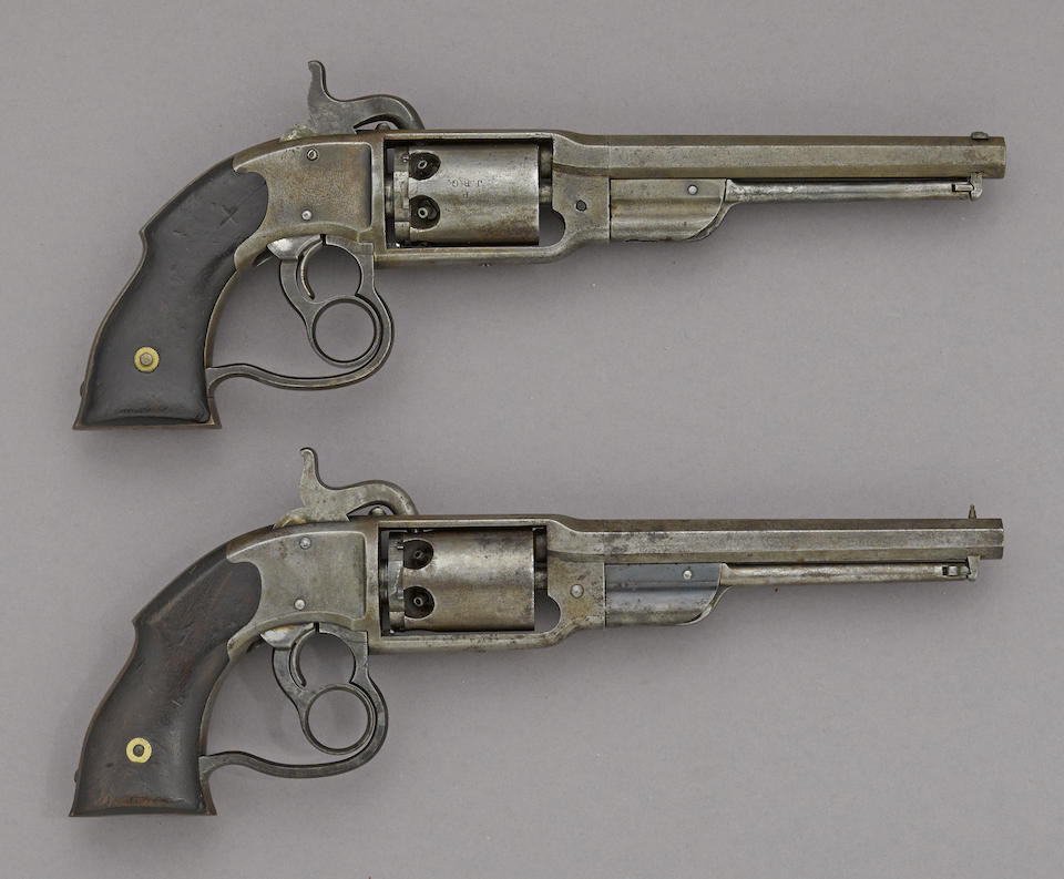 A Savage Revolving Fire-Arms Co. Navy Model revolver -Select US Arms Type-