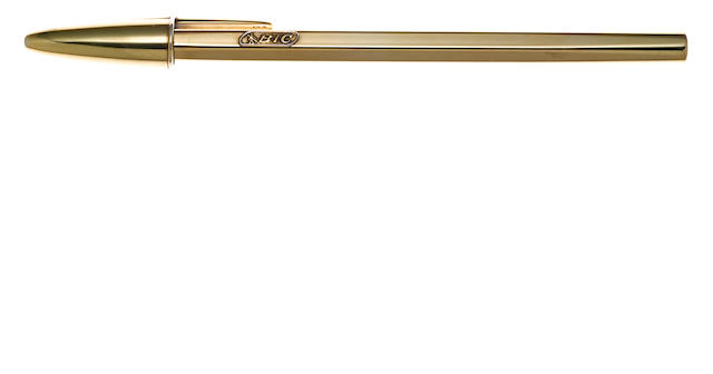 BIC: Crystal Vermeil Ballpoint Pen