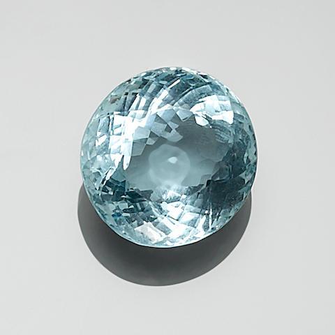 Beryl var. aquamarine