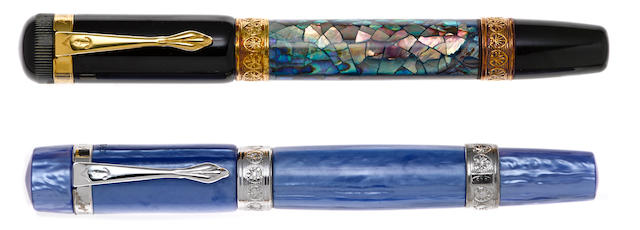 ANCORA: Lot of Two Limited Edition Fountain Pens