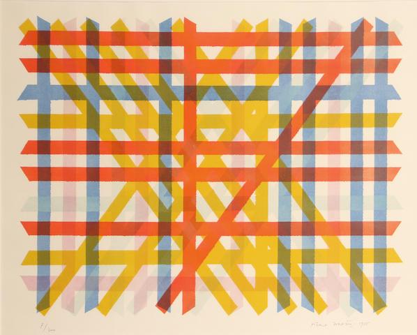 Piero Dorazio (Italian, 1927-2005); Untitled;