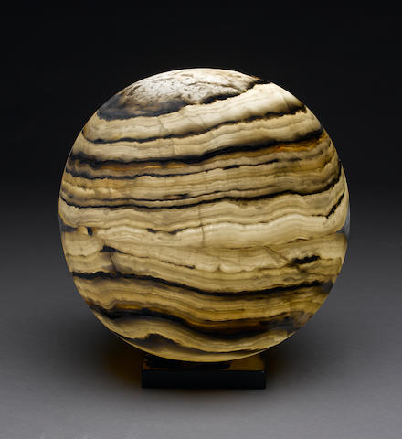 Lighted Onyx Globe