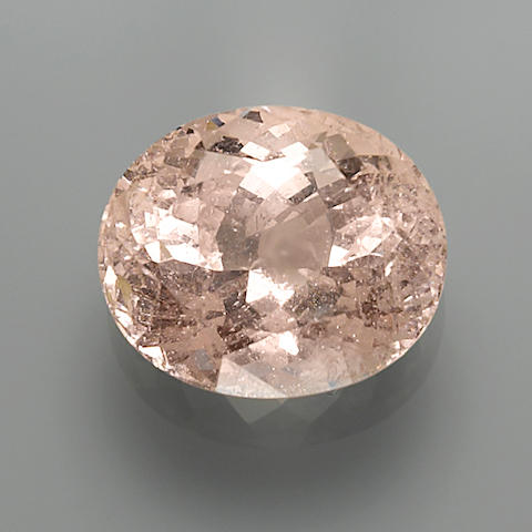 Large Morganite from an Unusual Locality