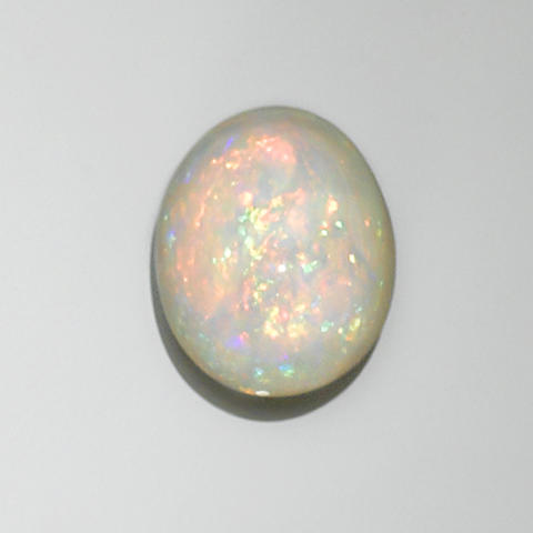 White Crystal Opal