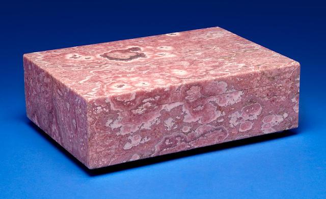 Fine Rhodochrosite Box