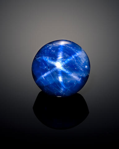 Natural Star Sapphire--A Member of the 100 Carats Club