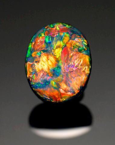 Very Fine Black Opal