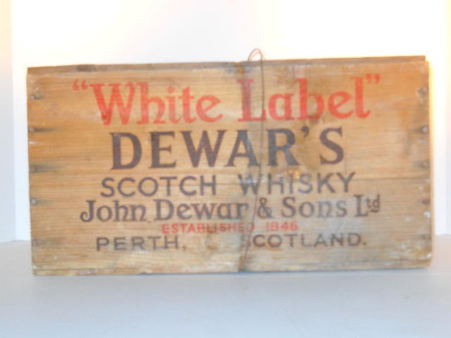 Dewars White Label- circa 1950's (12)