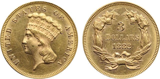 1882 $3