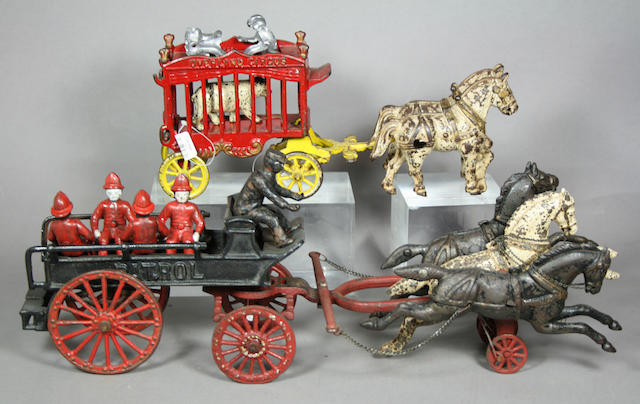 Horse Drawn Cast Iron Ensemble