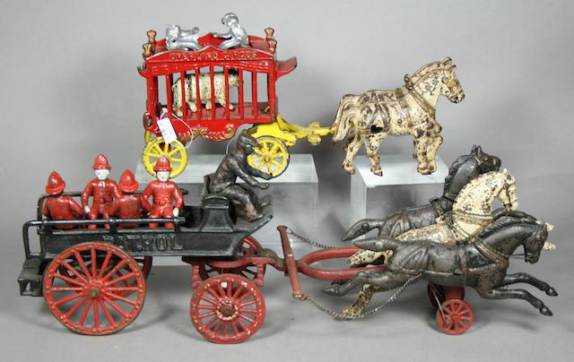 Horse Drawn Cast Iron Ensemble