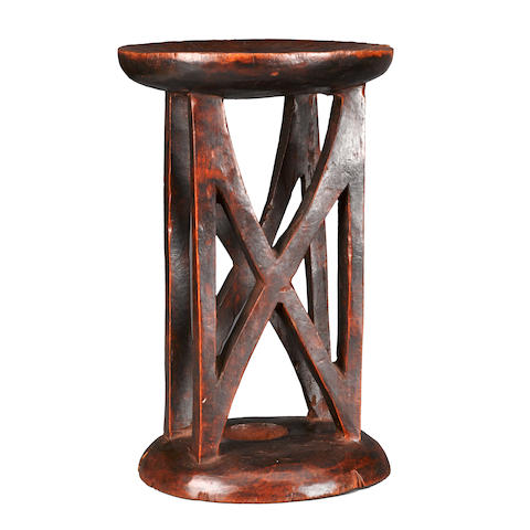 Tall Stool, possibly Ethiopia