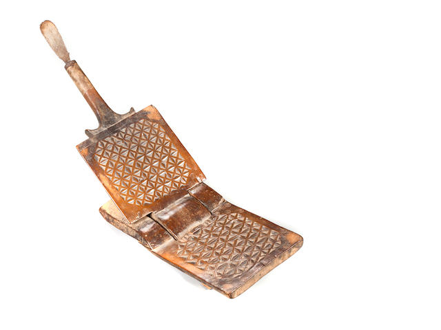 Swahili Grater, Tanzania  length 24 1/2in (62.2cm)